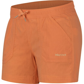Marmot Adeline Pantalones cortos Mujer, amber